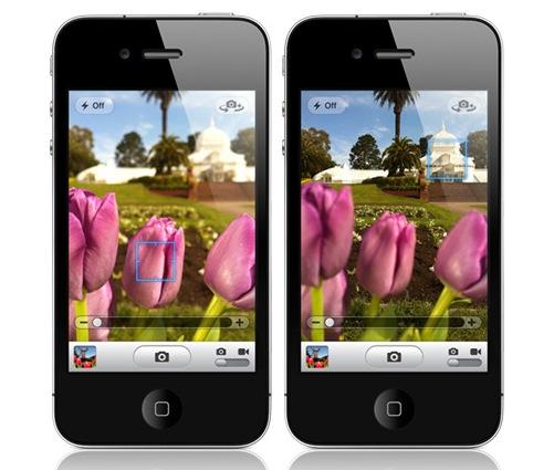 Camera-app-tap-to-focus