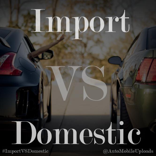 import vs domestic