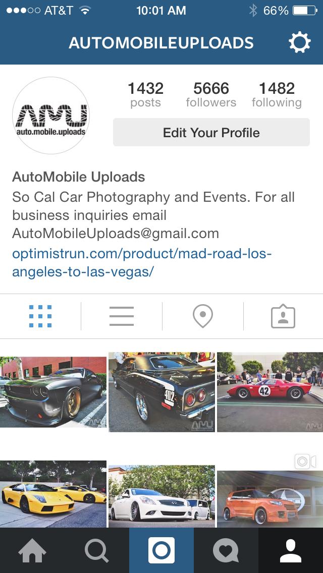 Instagram AutoMobileUploads