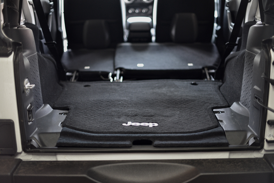 Jeep Wranlger Unlimited Cargo Space