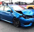 Scion iM accident