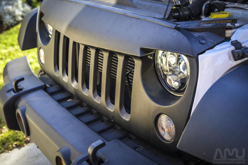 Jeep Headlight Install X
