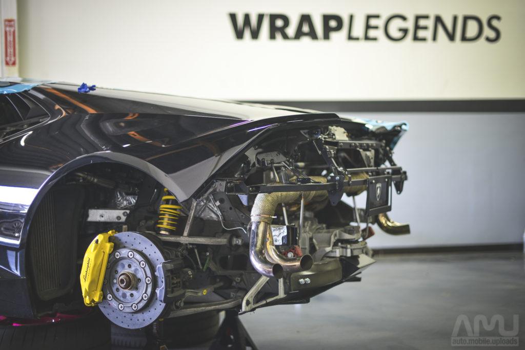 Wrap Legends BAPE Lamborghini