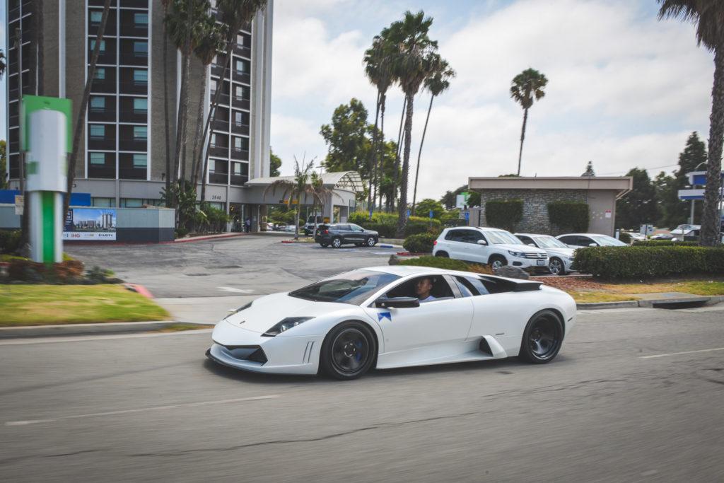 Lamborghini Murcielago With Straigh Pipe Exhaust Sounds In Tunnels
